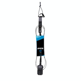 FCS Essential Comp Surf Leash - Coal
