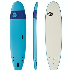 Softech Handshaped Original Funboard Surfboard - Blue