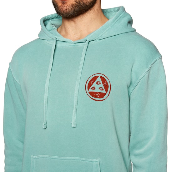 Welcome Maned Woof Pigment Dyed Pullover Hoody
