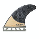 Futures Rasta Honeycomb Quad Fin