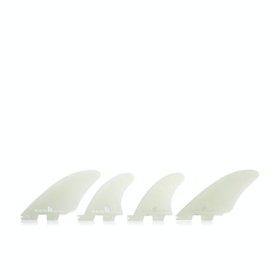 FCS II Performance Glass Split Keel Quad Fin