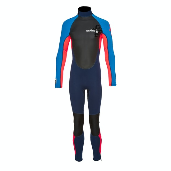 C-Skins Girls Element 3/2mm Back Zip Girls Wetsuit