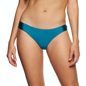 SWELL Bowie Cheeky Brief Bikini Bottoms - Teal