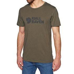 Fjallraven Logo Short Sleeve T-Shirt - Tarmac
