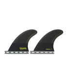 Futures QD2 4.0 Symmetrical Honeycomb Quad Trailer Fin