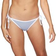 SWELL Skinny Strap Tie Side Bikini Bottoms
