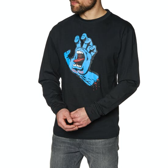Santa Cruz Screaming Hand Long Sleeve T-Shirt