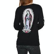 Santa Cruz Guadalupe Colour Ladies Long Sleeve T-Shirt