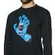 T-Shirt a Manica Lunga Santa Cruz Screaming Hand