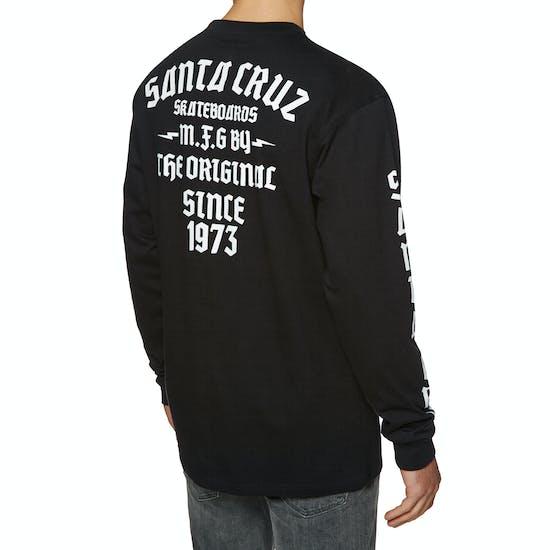 Santa Cruz Blackletter Long Sleeve T-Shirt