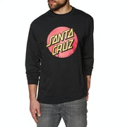 Santa Cruz Classic Dot Long Sleeve T-Shirt