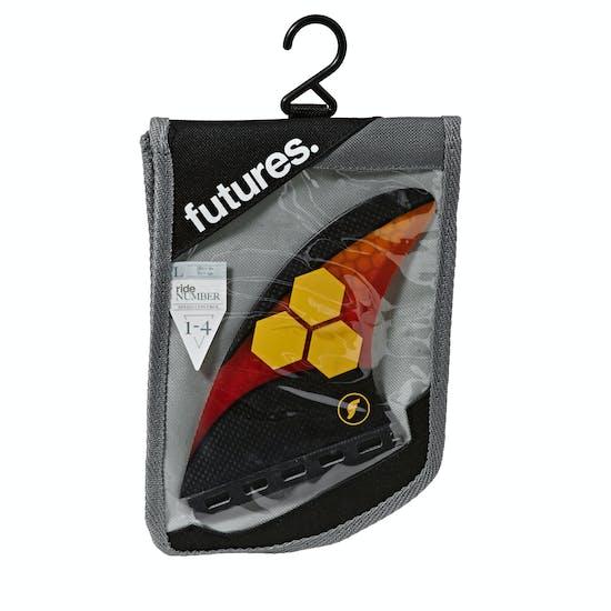 Futures AM2 Techflex Thruster Fin