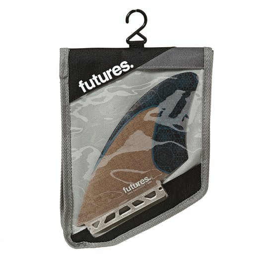 Futures Rasta Honeycomb Keel Twin Fin