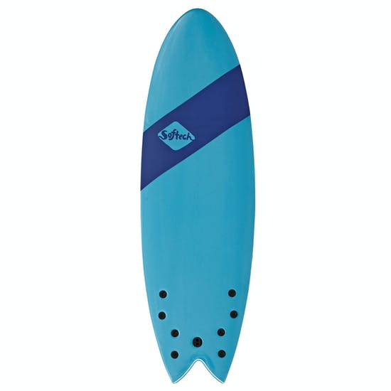 Softech Handshaped Original FCS II Quad Shortboard Surfboard