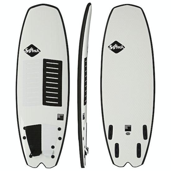 Surfboard Softech Mystery Box FCS II Quad