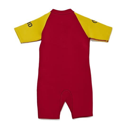 Muta subacquea Bambini C-Skins Trainee Lifeguard 3/2mm Front Zip Shorty