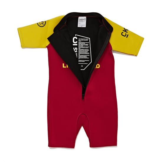 C-Skins Trainee Lifeguard 3/2mm Front Zip Shorty Kids Wetsuit