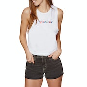 Santa Cruz Coloured Strip Ladies Tank Vest