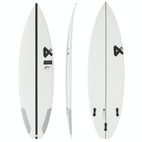 Fourth Surfboards E.T. Fresh Base Construction FCS II 3 Fin Surfboard - White/ Black