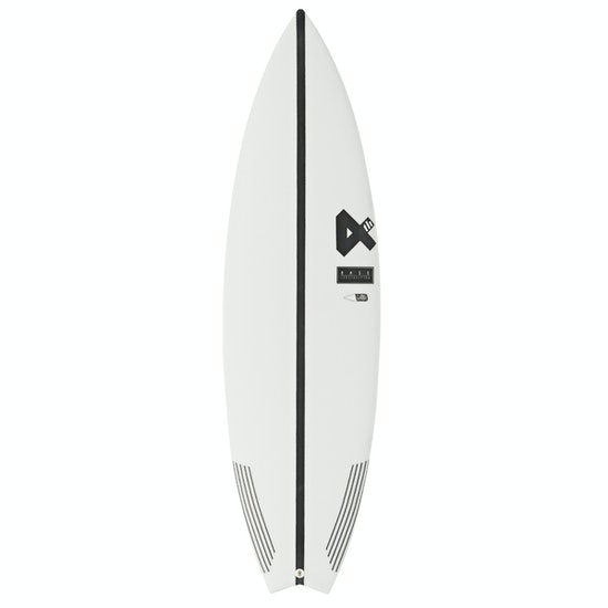 Fourth Surfboards Belly Shank Base Construction FCS II Tri-Fin Surfboard