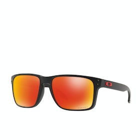 Oakley Holbrook XL Sunglasses - Matte Black ~ Prizm Ruby