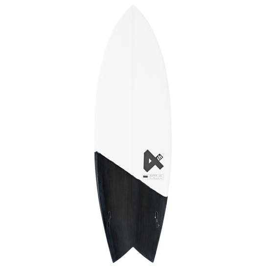 Fourth Surfboards Twin Fin Base Construction FCS II Surfboard