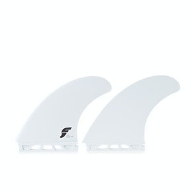 Futures FT1 Thermotech Twin Fin - White