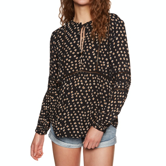 Amuse Society Chateau Woven Womens Top