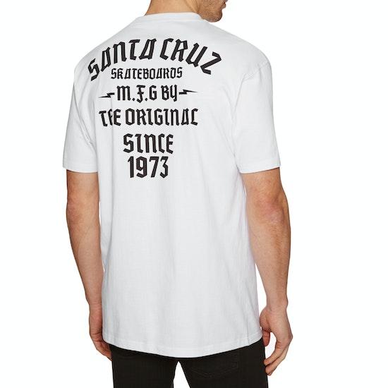 Santa Cruz Blackletter Short Sleeve T-Shirt