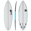 Fourth Surfboards Doofer FX1 Construction FCS II 5 Fin Surfboard - White/ Black