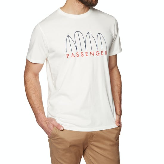 Passenger Clothing Nosey Short Sleeve T-Shirt