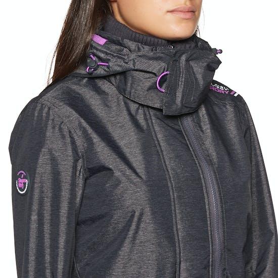 Superdry Tech Hood Pop Zip SD Windcheater Womens Windproof Jacket