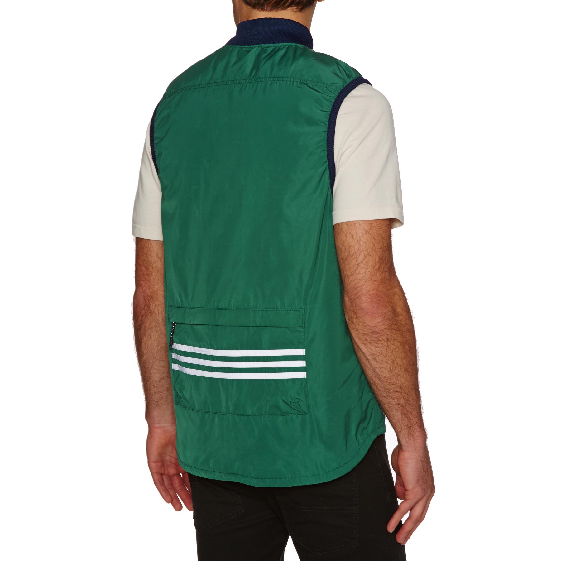 Optimismo Inspiración corazón perdido  adidas Skateboarding Meade Vest   Green   Vests   CE1806