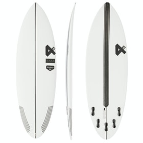 Fourth Surfboards Reload 2.0 Base Construction FCS II 5 Fin Surfboard - White/ Black