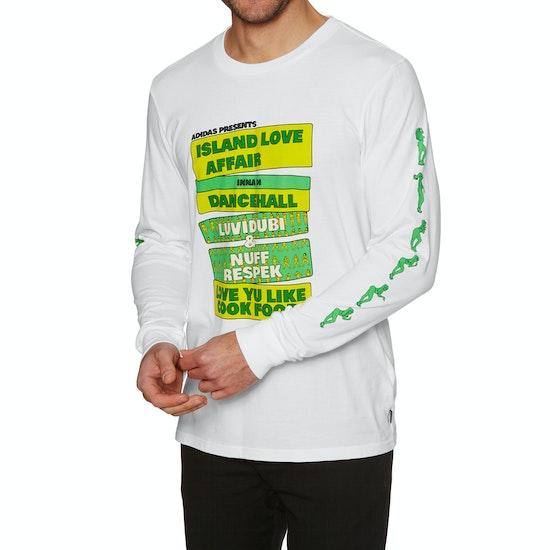 Adidas Island Love Affair Long Sleeve T-Shirt