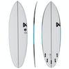 Fourth Surfboards Chilli Bean FX1 Construction FCS II 5 Fin Surfboard - White Black