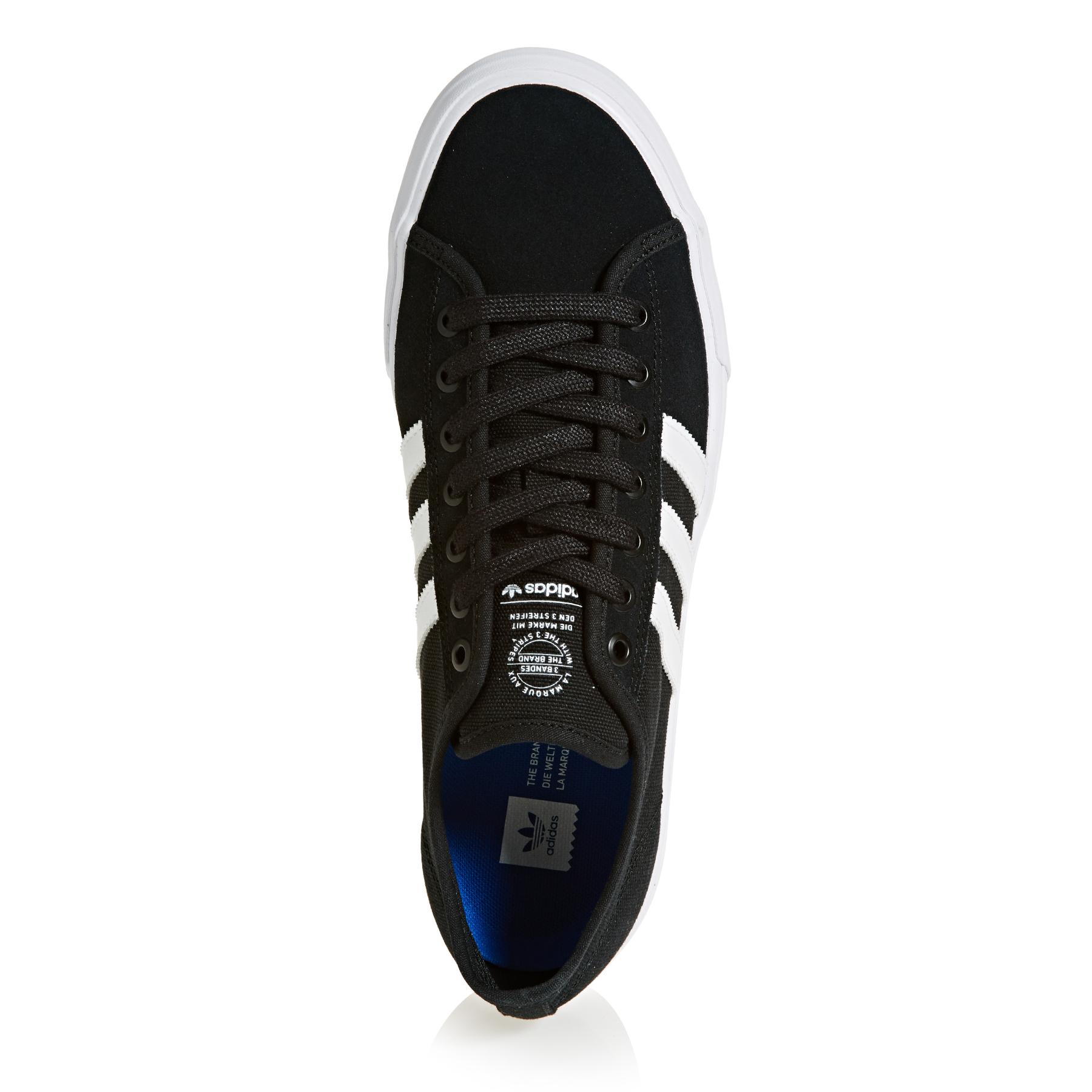 Details about Adidas Matchcourt RX Skate Trainers Shoes BlackWhite UK Size 6,7,8,9,10,11