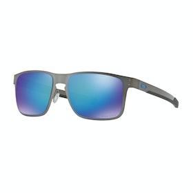 Oakley Holbrook Metal Sunglasses - Matte Black ~ Prizm Sapphire