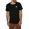 Banks Flag T-Shirt Korte Mouwen - Dirty Black