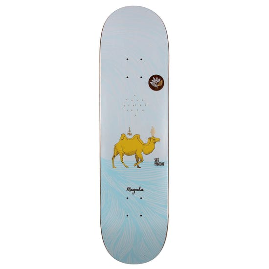 Magenta Dream Series Panday 8 Inch Skateboard Deck