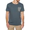 T-Shirt à Manche Courte Channel Islands Hex Pocket - Navy
