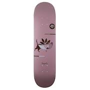 Magenta Cat Deck 8 Inch Skateboard Deck
