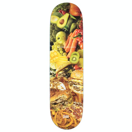 Sour Koffe Healthy Grease 8.375 Inch Skateboard Deck
