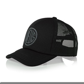 Deus Ex Machina Pill Trucker Cap - Black