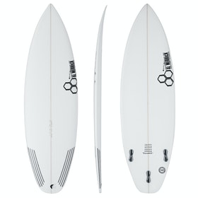 Surfboard Channel Islands Sampler FCS II Thruster - White