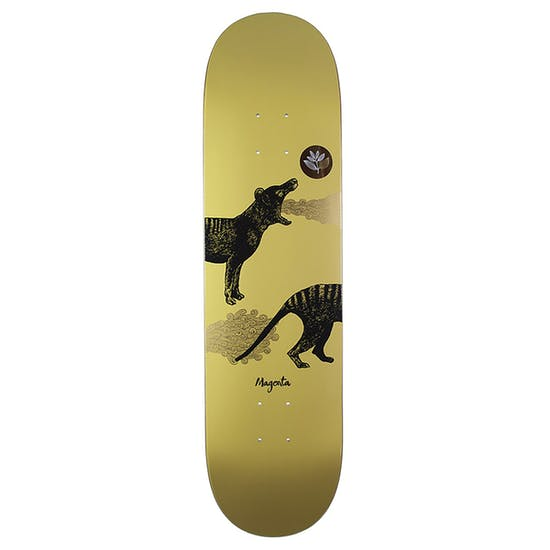Magenta Tasmanian Tiger 8 Inch Skateboard Deck
