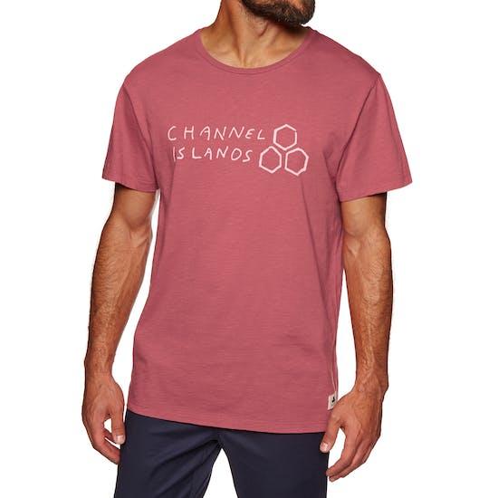 T-Shirt à Manche Courte Channel Islands Hand Made