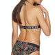 Calvin Klein Intense Power Fixed Trianglerpprint Bikini Top