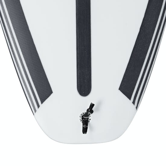 Surfboard Channel Islands Black And White Spine-Tek Futures Thruster
