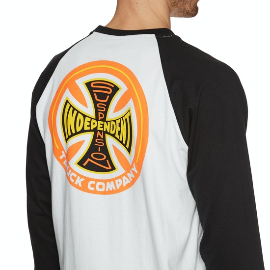 Independent Suspension Sketch Baseball Top 長袖 T シャツ